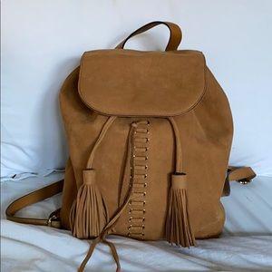 Rebecca Minkoff Suede Backpack